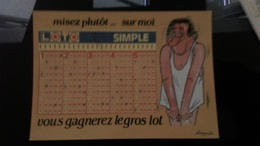 CP - Misez Plutôt Sur Moi..............vous Gagnerez Le Gros Lot  (LOTO SIMPLE) - Humour