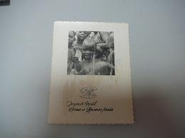 (23.03)  Kerst-en Nieuwjaarskaart 1960 Uit Kamina - Nouvel An