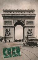 Paris - Lot De 4 Cartes EDN, Publicité St Raphael-Quinquina (Trocadéro, Arc De Triomphe, Tour Eiffel, Madeleine) - Lotes Y Colecciones