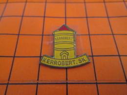 1519 Pin's Pins / Beau Et Rare / THEME : VILLES / CANADA KERROBERT SK SASKATCHEWAN - Banken