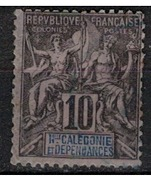 NOUVELLE CALEDONIE             N°  YVERT  :   45  OBLITERE       ( Ob   5/41  ) - Nouvelle-Calédonie