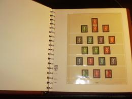 ALBUM FRANCE Préimprimé REGULAR  1990 à 1994 LINDNER - Binders With Pages