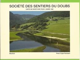 Société Des Sentiers Du Doubs - 1982 - Biaufond - Photographie