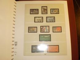 ALBUM FRANCE Préimprimé REGULAR 1984 à 1990 LINDNER - Binders With Pages