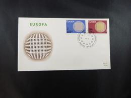 """BELG.1970 1530 & 1531 FDC (Brus/Brux) : """"Europa"""" - 1961-70"""