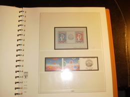 ALBUM FRANCE Préimprimé REGULAR 1982 à 1989 LINDNER - Binders With Pages