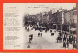 X46163 CAHORS 46-Lot Le Boulevard Poeme De SURGES Eugénie GRANDET 1916 à Eleonor DUSSOL Cournonterral / Librairie GRIMA - Cahors