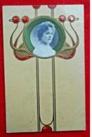 CPA Fantaisie Femme Rétro-vintage / Art Nouveau - Donne