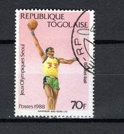 TOGO   N° 1230     OBLITERE  COTE 0.30€      JEUX OLYMPIQUES  SEOUL - Togo (1960-...)