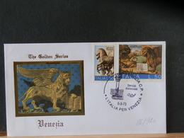 86/920  FDC  ITALIE   LION - Félins