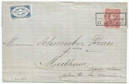Sk657 - BÜHL KREIS GEBWEILER - 1876 - Elsass - Haut Rhin - Pfennige - Guebwiller - - Lettres & Documents