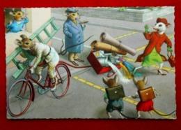 CPA Fantaisie Souris Humanisées Colonniat Série 2263 / 6 - Animaux Habillés