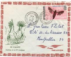 Kaala-Gomen 1970 - Lettre Brief Cover - New Caledonia