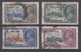 HONG KONG 1935 SILVER JUBILEE SET SG 133/136 USED - Hong Kong (...-1997)