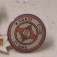 C113 Pin's KARATE Club Saint Ame Vosges Achat Immédiat - Pin's