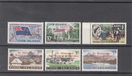 COOK ISLANDS 1966 WINSTON CHURCHILL SG 179/184 SET MNH - Cook Islands