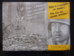 WWII WW2 Black Propaganda Leaflet Tract Flugblatt  FREE SHIPPING WORLDWIDE - Vieux Papiers