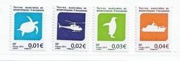 M1 - TAAF PO 677/680** MNH De 2013 - Faune Et Transports. - Nuevos