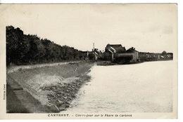CARTERET - Contre-jour Sur Le Phare De Carteret - CPA ( Manche , France ) - Carteret