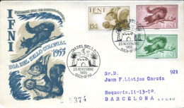 Ref. 282958 * NEW *  - IFNI . 1955. DAY OF THE COLONIAL STAMP. DIA DEL SELLO COLONIAL - Ifni