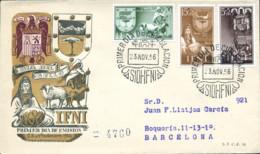 Ref. 282953 * NEW *  - IFNI . 1956. STAMP DAY. DIA DEL SELLO - Ifni