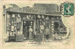 14 COURSEULLES SUR MER - MAGASIN E. FOUCHER - Courseulles-sur-Mer