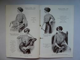 Catalogue MELVILLE Et ZIFFER Dentelle Broderie Store Bustier Rideaux Nappe Napperon... P. MEZZARA  A. TENENTI  32 Pages - Textile & Clothing