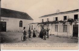 17 ARVERT   CPA. VUE EXTERIEURE DU TEMPLE D'AVALLON  BRAUN 904 - Andere Gemeenten