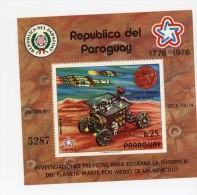 Paraguay-1976-Bicentenair E USA-Viking-MI B294***MNH - Südamerika