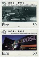 Ref. 66620 * NEW *  - IRELAND . 1999. 125th ANNIVERSARY OF UPU. 125 ANIVERSARIO DE LA UPU - 1949-... Repubblica D'Irlanda