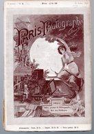 (photo)  Revue PARIS PHOTOGRAPHE NADAR 3e Année N°4  (manque Le  HT   )   Planche Photos: Artistes  (avril 1893) - Photographie