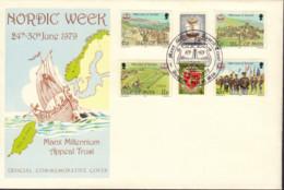 Ref. 407041 * NEW *  - ISLE OF MAN . 1979. MILLENNIUM OF TYNWALD. MILENIO DE TYNWALD - Isle Of Man