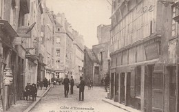 CPA 35 Saint-Malo - La Rue Des Cordiers - Saint Malo