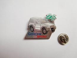 Beau Pin's En Zamac , Auto 4X4 Mitsubishi Pajero , Giroix Sport , Palmier - Mitsubishi