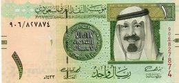 SAUDI ARABIA 1 RYAL 2012 P-31c  UNC - Arabie Saoudite