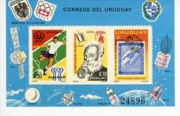 URUGUAY-GRAHAM BELL-ARGENTINE 78-TIMBRES SUR TIMBRE-ESPACE-MI B29***MNH-COTE 55 EURO - Südamerika
