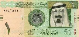 SAUDI ARABIA 1 RYAL 2009 P-31b  UNC - Arabie Saoudite