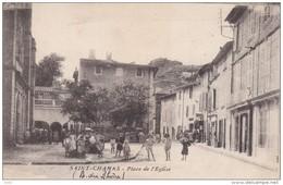 BOUCHES DU RHONE SAINT CHAMAS PLACE DE L EGLISE - Altri Comuni