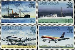 Ref. 41191 * NEW *  - JAMAICA . 1999. 125th ANNIVERSARY OF UPU. 125 ANIVERSARIO DE LA UPU - Jamaica (1962-...)