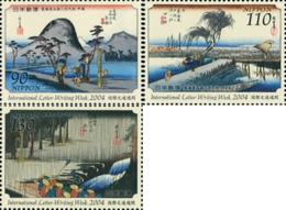 Ref. 158252 * NEW *  - JAPAN . 2004. WEEK OF THE LETTER. SEMANA DE LA CARTA - 1989-... Imperatore Akihito (Periodo Heisei)