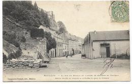 BOUILLON : La Rue Du Moulin Et L'assise Des Rochers Du Château - 1907 - Bouillon