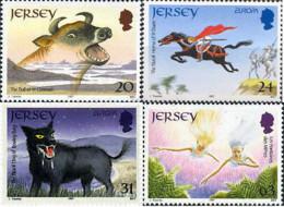 Ref. 63072 * NEW *  - JERSEY . 1997. EUROPA CEPT. TALES AND LEGENDS. EUROPA CEPT. CUENTOS Y LEYENDAS - Jersey