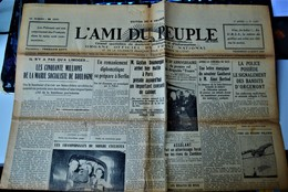 Rare Journal L'ami Du Peuple 12 Juillet 1935 - Other
