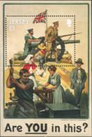 Ref. 321063 * NEW *  - JERSEY . 2014. 100th ANNIVERSARY OF THE END OF THE FIRST WORLD WAR. 100 ANIVERSARIO DEL FIN DE LA - Jersey