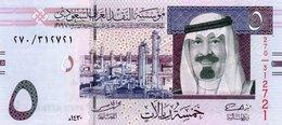 SAUDI ARABIA 5 RYALS 2009 P-32b  UNC - Arabie Saoudite