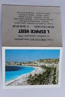 Petit Calendrier 1992 Offert Par L Espace Vert CHAUSSIN 39 Paysage Bord De Mer - Calendriers