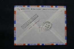 ALGÉRIE - Cachet D'arrivé De Tindouf  Saoura Au Verso D'une Enveloppe De France En 1961- L 57047 - Algérie (1924-1962)