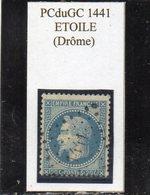 Drôme - N° 29B Obl PCduGC 1441 Etoile - 1863-1870 Napoléon III Lauré