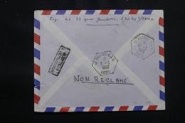 ALGÉRIE - Cachet D'arrivé De In Amenas S.A.S  Oasis Au Verso D'une Enveloppe De France En 1962 - L 57049 - Covers & Documents