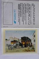 Petit Calendrier 1992 Offert Par La Poste  Diligence - Calendriers